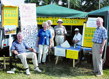 Fundraising at Dunster Show